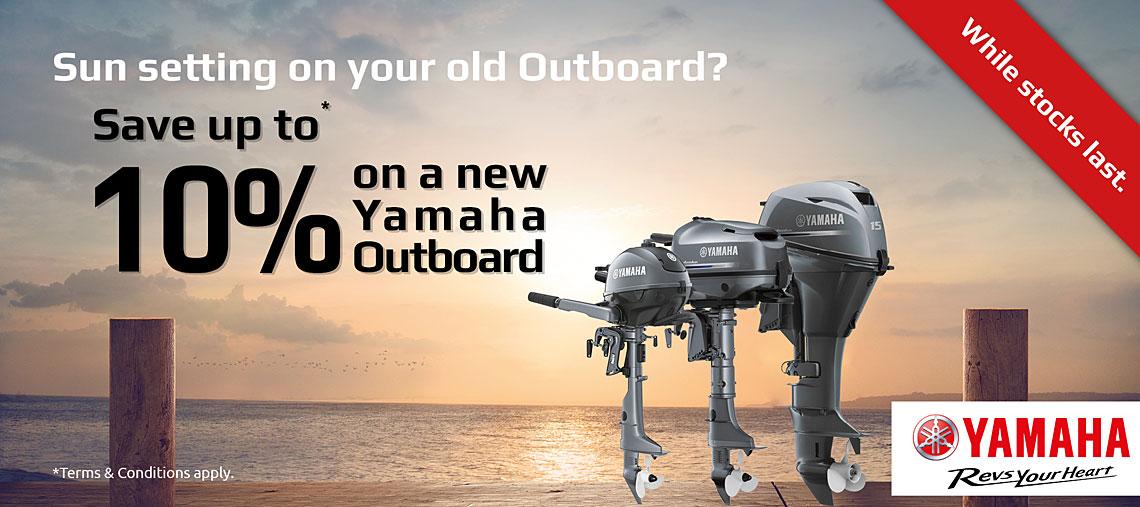 Yamaha Outboard Motors - Robin Curnow